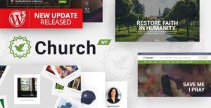ChurchWP – A Contemporary WordPress Theme for Churches v1.9.3 nulled
