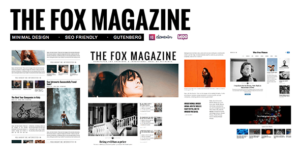 The Fox – Minimal Blog/Magazine Theme For Creators v4.6.3 nulled
