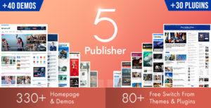 Publisher – Newspaper Magazine AMP v7.9.0 RC5 Untouched