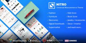 Nitro – Universal WooCommerce Theme from ecommerce experts v1.7.9 Nulled