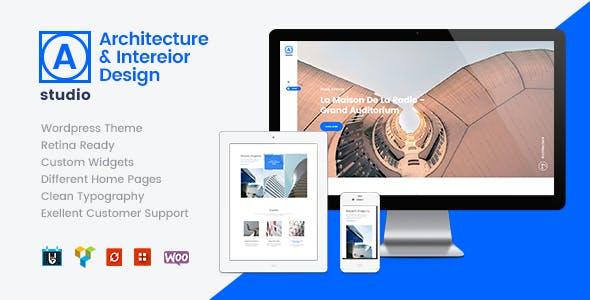 A.Studio   Interior Design and Architecture WordPress Theme