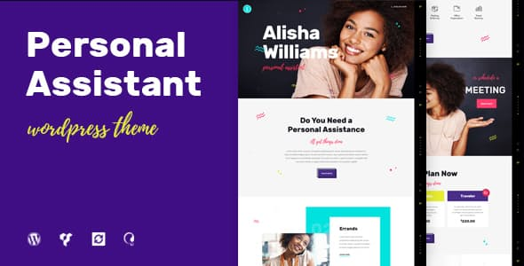A.Williams v1.2.2 | A Personal Assistant & Administrative Services WordPress Theme