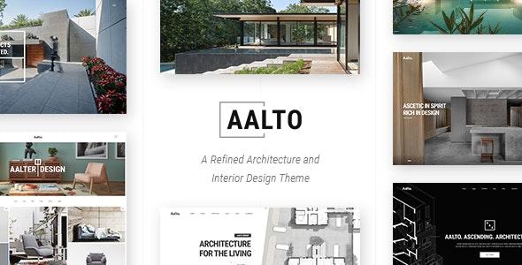 Aalto v1.4 – Architecture and Interior Design Theme
