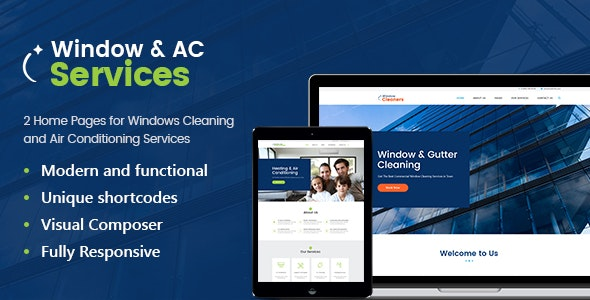 AC Services v1.2.5 | Air Conditioning and Heating Company WordPress Theme