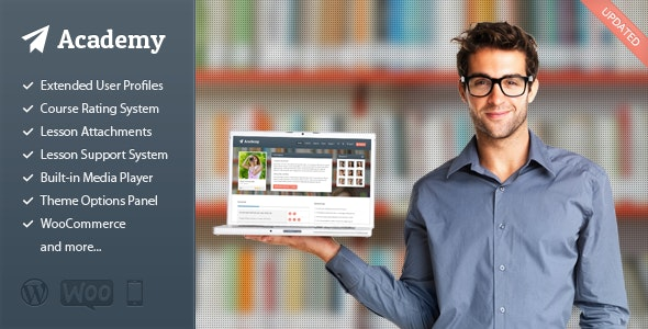 Academy – Learning Management Theme