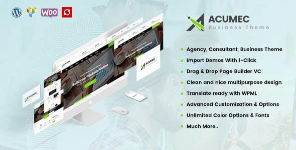 Acumec v1.3 – Business Multipurpose WordPress Theme