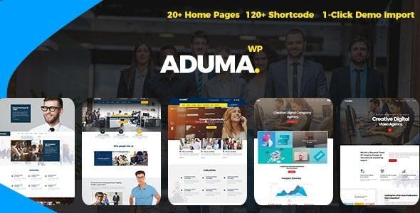 Aduma v1.3.1 – Consulting, Finance, Business WordPress Theme