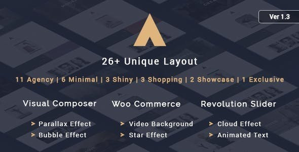 Agency v1.4 – A Theme for lancers and Agencies