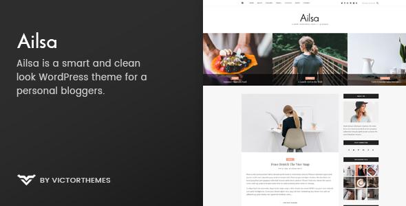 Ailsa v1.4 – Personal Blog WordPress Theme