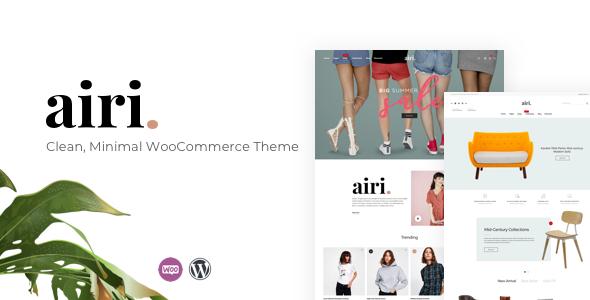 Airi v1.1.1 – Clean, Minimal WooCommerce Theme