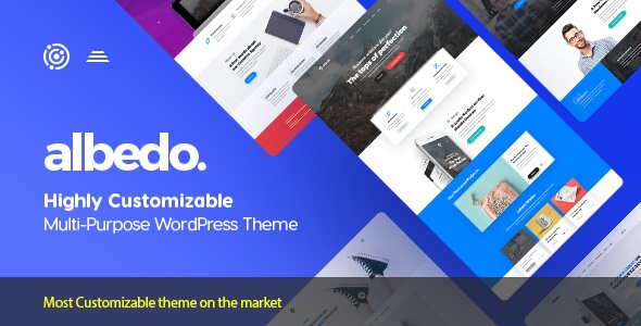 Albedo v1.0.33 – Highly Customizable Multi-Purpose WordPress Theme
