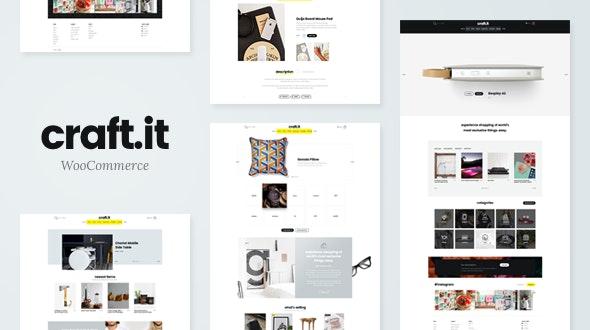 Craftit v2.0 – Artisan Shopping WordPress Theme