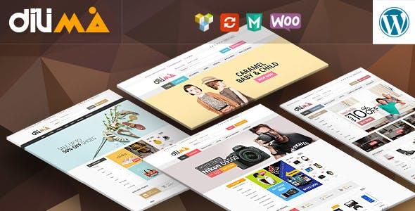 Dilima v1.3 – Mega Store Responsive WooComerce Theme