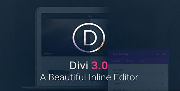 Elegant Themes Divi v4.0.2 WordPress Theme