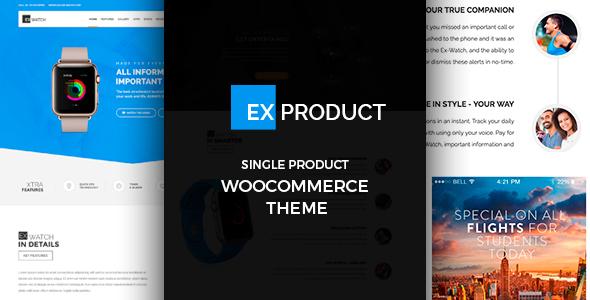 ExProduct v1.5.0 – Single Product theme