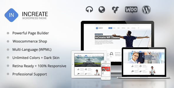 inCreate v1.2.5 – Responsive MultiPurpose WordPress Theme