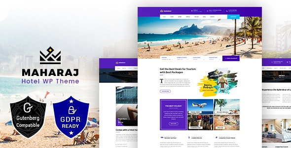 Maharaj Tour v1.6 – Hotel, Tour, Holiday WordPress Theme