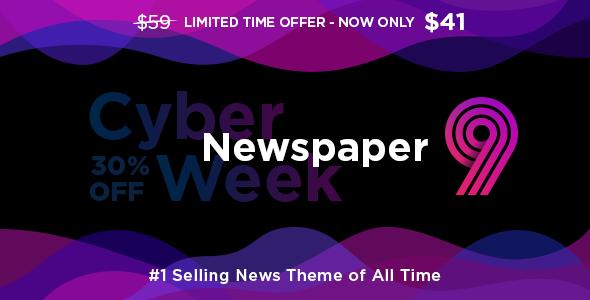 Newspaper v9.8 WordPress Theme