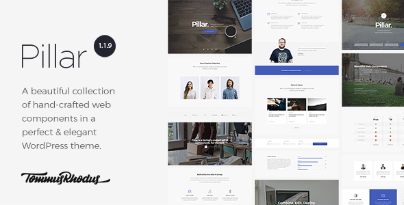 Pillar v1.1.14 – Multi-Concept Responsive WordPress Theme