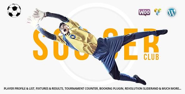 Soccer Club v1.3.4 – Football Team WordPress Theme