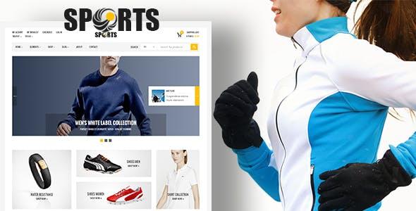 Sport Shop v2.4 – Sporting Club RTL WooCommerce WordPress Theme