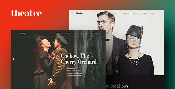 Theatre WP v1.1.4 | Culture, Entertainment & Theater WordPress Theme