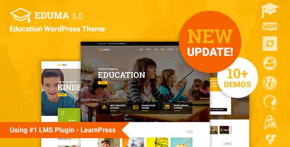 Eduma – Education WordPress Theme v4.2.1