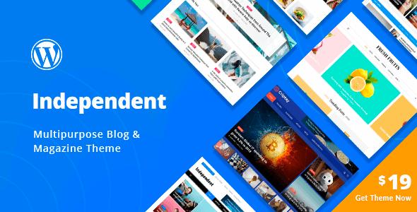 Independent 1.1.1 – Multipurpose Blog & Magazine Theme