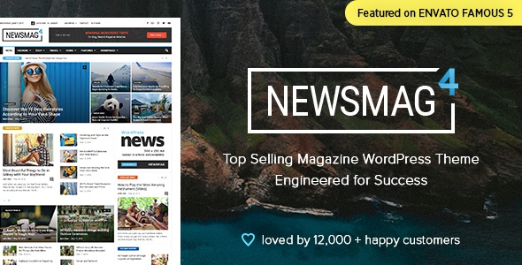 Newsmag – News Magazine Newspaper v4.9.1