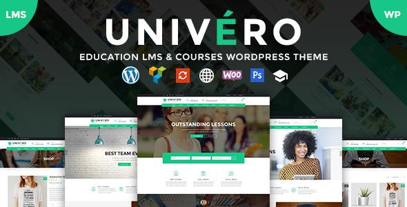 Univero – Education LMS & Courses WordPress Theme Premium v1.5