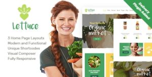 Lettuce | Organic Food & Eco Online Store Products WordPress Theme v1.1 nulled