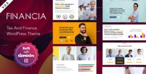 Financia 2 – Business and Finance WordPress Theme v2.0.1 nulled