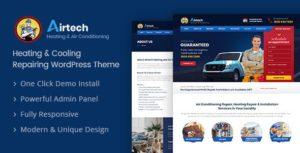 Airtech – Plumber WordPress Theme v1.6 nulled