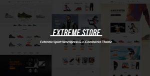 Extreme | Sports Clothing & Equipment Store WordPress Theme v1.5 nulled