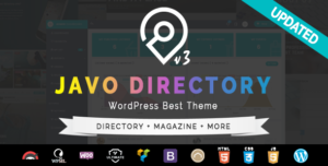 Javo Directory WordPress Theme v4.1.6 nulled