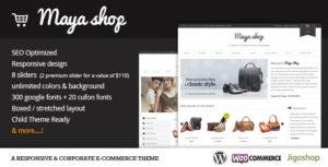 MayaShop – A Flexible Responsive e-Commerce Theme v3.7.7 nulled