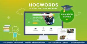 Hogwords | Education Center WordPress Theme v1.2.1 nulled