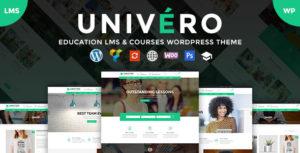 Univero | Education LMS & Courses WordPress Theme Premium v1.9 nulled