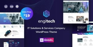 Engitech – IT Solutions & Services WordPress Theme v1.0.2 nulled