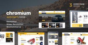 Chromium – Auto Parts Shop WordPress WooCommerce Theme v1.3.13 nulled