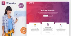 Exqute – Painting Company WordPress Elementor Theme v1.5 nulled