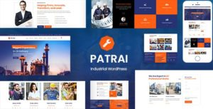 Patrai Industry – Industrial WordPress Theme v1.5 nulled