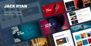 Jack Ryan – Creative Portfolio WordPress Theme v1.0 nulled