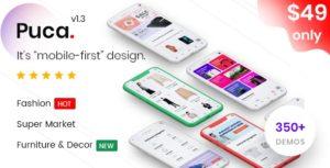 Puca – Optimized Mobile WooCommerce Theme v2.1.1 nulled