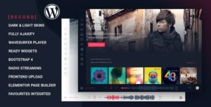 Rekord – Ajaxify Music – Events – Podcasts Multipurpose WordPress Theme v1.4.1 nulled