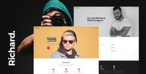 Richard – Onepage Personal WordPress Theme v1.0 nulled