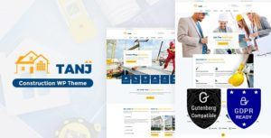 Tanj Construction – Architecture, Construction Theme v2.0 nulled