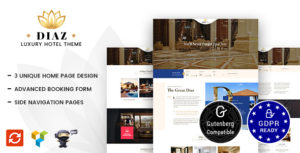 Hotel Diaz – Hotel Booking Theme v2.3 nulled