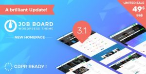 Job Board WordPress Theme – InJob v3.4.2 nulled