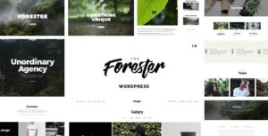The Forester – Elementor Portfolio Theme v1.4.2 nulled